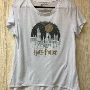 Tops - Harry Potter Scoop Neck Graphic T-Shirt